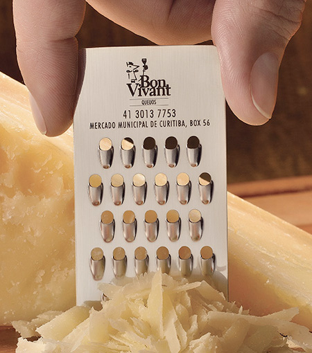 Impressive business cards from around the globe cheeze grater business card brazil colourmoves